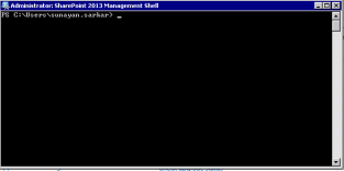 opening sharepoint 2013 management shell2