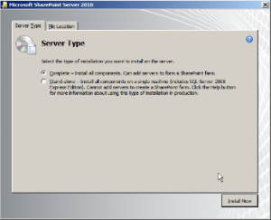 sharepoint 2010 installation complete2