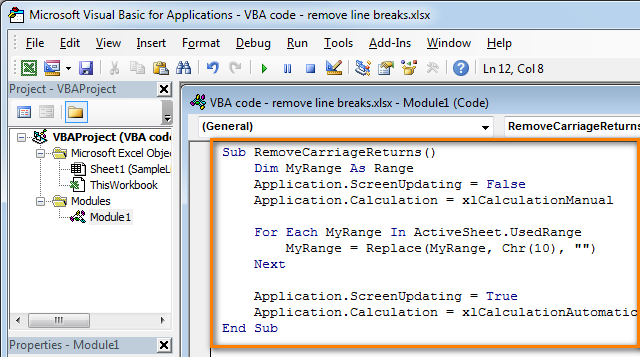 add-vba-code